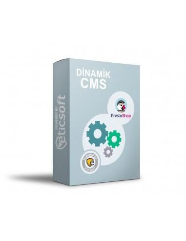 Dinamik CMS Modülü (Mesafeli satış sözleşmesi için)