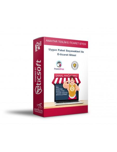 Anahtar Teslim Açık Kaynak E-ticaret Sistemi
