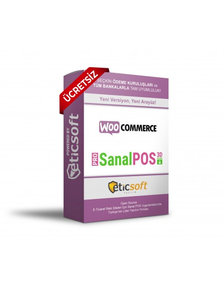 WooCommerce 3D SanalposPRO + PAYU + IPARA + MOKA (ÜCRETSİZ)