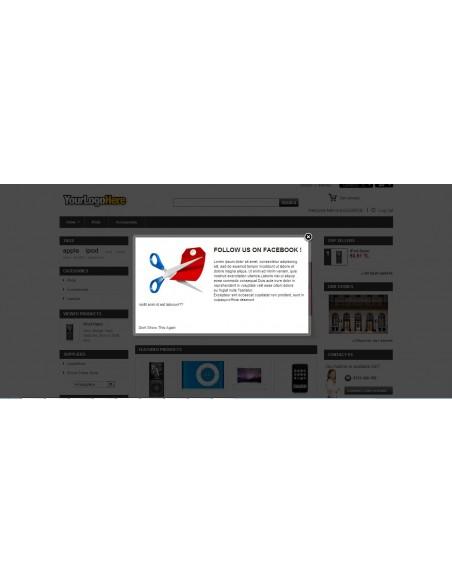 Ana Sayfa Modal Reklam Modülü